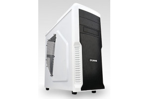 Корпус ATX ZALMAN Z3 Plus w/o PSU MidiTower White