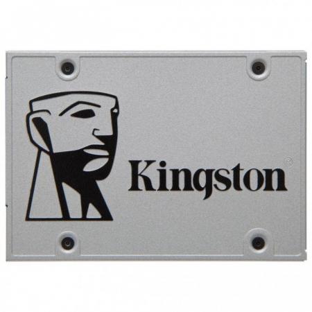 "Жесткий диск SSD 2.5"" SATA III 240Gb Kingston SSDNow UV400 (7 мм, TLC, R550Mb/W490Mb, R90K IOPS/W25K IOPS, 1M MTBF) (SUV400S37/240G)"
