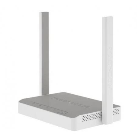 Маршрутизатор Keenetic Start (KN-1111) 802.11n/b/g 300Mbps, 3x10/100 LAN, 1x10/100 WAN, две внешние антенны 5dBi