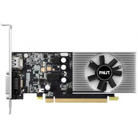 Видеоадаптер PCI-E Palit GeForce GT1030 2048Mb PA-GT1030 2G (RTL) GDDR5 64bit DVI-D/HDMI