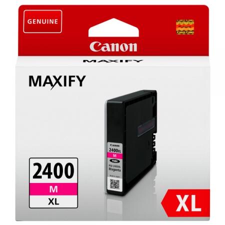картридж canon pgi-2400xlm пурпурный для canon ib4040/мв5040/5340 (9275b001)