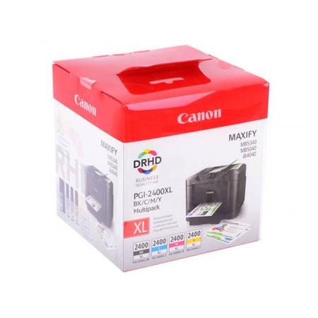 картридж canon pgi-2400xl bk/c/m/y набор для canon ib4040/мв5040/5340