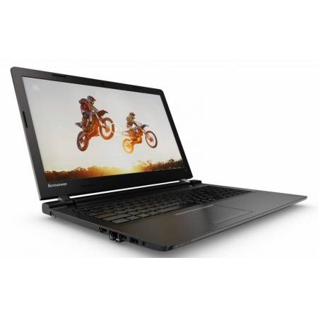 """ноутбук lenovo 100-15iby cel-n2840/2g/250/15.6""""/24wh/w10/black (80mj00dtrk)"""