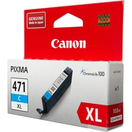 картридж canon cli-471xlc голубой для canon pixma mg5740/mg6840/mg7740 (0347c001)