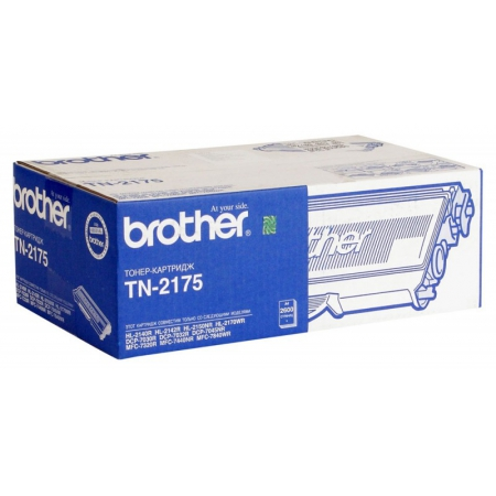 картридж brother tn-2175 hl-2140/2150n/2170w/dcp7030/mfc7320 (2600 стр) (о)