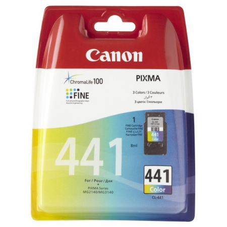 картридж canon cl-441 для pixma mg2140/3140 color