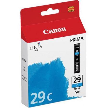 картридж canon pgi-29c голубой для pixma pro 1 (4873b001)