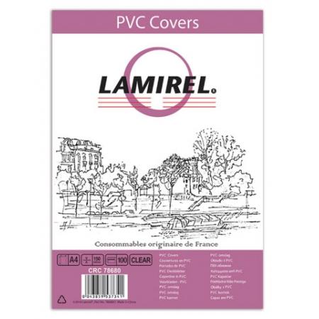 обложки для переплёта fellowes a4 прозрачный (100шт) lamirel (la-78680)(la-78680)