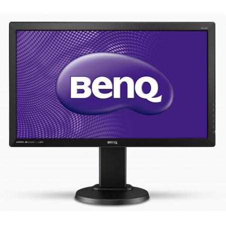 "монитор benq 24"" bl2405ht [tn, led, 1920x1080, 1000:1, dc 12m:1, 2мс gtg, 170гор/160вер, d-sub. dvi, hdmi](9h.laxlb.hbe)"