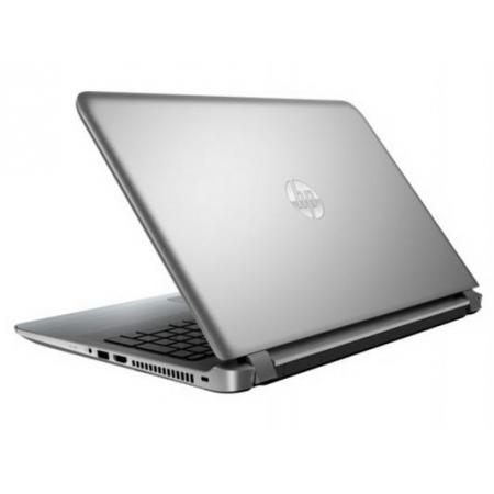 """Ноутбук HP 15-ab100ur AMD A4-6210/4G/500/15.6""""/DVD-RW/W10/silver (N7J04EA)"""