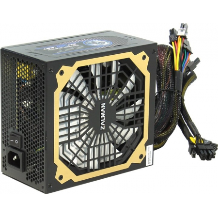 Блок питания ATX 750W Zalman ZM750-EBT 80+ Gold 140mm 24+2x4+4x6/8pin 8xSata+ 6xMolex Cable Management APFC RTL