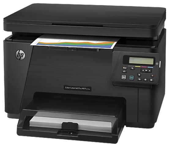 мфу hp color laserjet pro m176n (принтер, сканер, копир, lan) cf547a