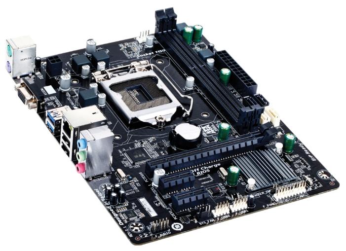 материнская плата gigabyte ga-h81m-s1 (rtl) s-1150 h81 2xddr3 pci-e x16/2xpci-e x1 2xsata ii/2xsata iii 2xps/2/d-sub/2xusb 2.0/2xusb 3.0/glan/3 audio jacks matx