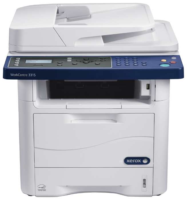 мфу xerox workcentre 3315dn (принтер, сканер, копир, факс, дуплекс, adf, lan, natkit)
