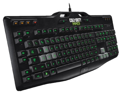 Gaming Keyboard G105: Made for Call of Duty Black USB