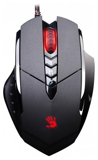 мышь a4tech bloody v7m game mouse usb black