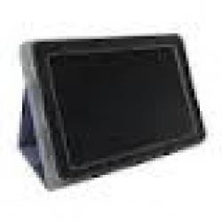 чехол-подставка для acer a51x/a70x partner (с возможностью вращения планшета на 360 градусов, кожаный, черный)