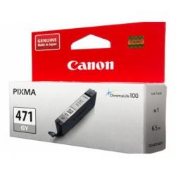 картридж canon cli-471gy серый для canon pixma mg5740/mg6840/mg7740 (0404c001)