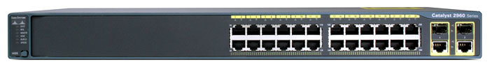 Коммутатор Cisco WS-C2960+24TC-L