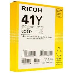 картридж ricoh aficio sg 3110dn/ 3110dnw/3100snw/3110sfnw желтый gc 41y (405764)