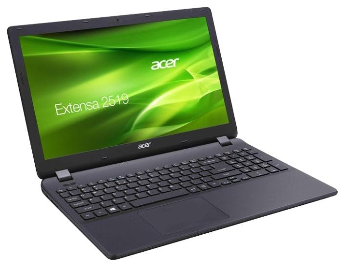 """ноутбук acer extensa 2519-c4te cel-n3050/2g/500/15.6""""/linux/black (nx.efaer.010)"""