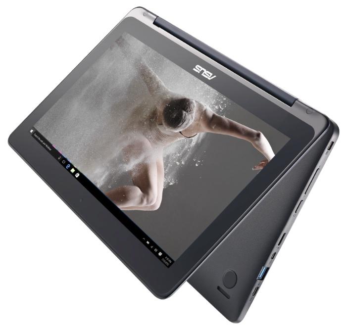 "ноутбук asus transformer book flip tp200sa cel-n3050/2g/32 ssd/11.6"" multi-touch/38wh/w10/dark blue (tp200sa-fv0108ts)"