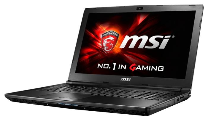 """ноутбук msi gl62 6qd i5-6300hq/8g/1tb/15.6""""fhd/gtx950m 2g/dvd-rw/dos/black (gl62 6qd-009xru)"""