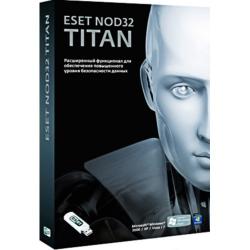 по антивирус nod32 titan 3пк 1год + 1 mobile box (nod32-est-ns(box2)-1-1 )