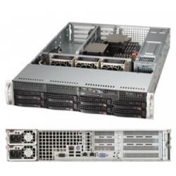 Сервер Трилайн 2U/1*E5-2630v3 (Up to 2)/2*8Gb/2*300Gb 15K HotSwap/discr RAID0/1/5/6/10/50/60 1024Mb/2*10G Base-T Intel X540/IPMI/2*740W/no OS