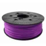 Пластик ABS на катушке в картридже, purpure (пурпурный), 1,75 мм/600гр