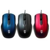 Мышь Jet.A Comfort OM-U50 красная (800/1200/1600dpi) 3 кнопки USB