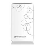 "Жесткий диск внешний 2.5"" 1Tb Transcend (5400/USB) TS1TSJ25A3W белый противоударный"