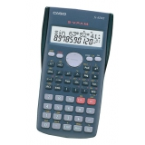 Калькулятор научный Casio FX-82MS 10+2 разряда серый 240 функций питание от батареи