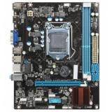 Материнская плата Esonic H61FEL-U (RTL) S-1155 H61 2xDDR3 PCI-E x16/PCI-E x1 4xSATA II D-sub/HDMI/6xUSB 2.0/GLAN/3 audio jacks mATX