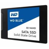 "Жесткий диск SSD 2.5"" SATA III 1Tb WD Blue (7 мм, 3D TLC, R560Mb/W530Mb, R95K IOPS/W84K IOPS, 1.7M MTTF) (WDS100T2B0A)"