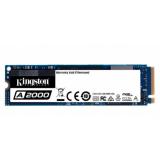 Жесткий диск SSD M.2 PCI-E x4 250Gb Kingston A2000 (80 мм, 3D TLC, R2000Mb/W1100Mb, R150K IOPS/W180K IOPS, 2M MTBF) (SA2000M8/250G)