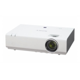 Проектор Sony VPL-EX295 3xLCD (1024x768)XGA, 3800 ANSI, 3300:1, Zoom 1.6x, +/-30 Vert., 2xVGA, HDMI, S-Video, Composite, VGA Out, Audio In/Out, USB(A), USB(B), RS-232, RJ45, слот для Wi-Fi