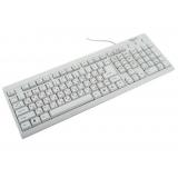 Клавиатура Gembird KB-8300U-R USB белая