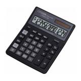 Калькулятор настольный Citizen SDC-011S черный 8-разр. 2-е питание SQRT