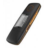 "Плеер Flash Digma U3 4Gb черный/оранжевый/1.1""/FM/microSDHC(_)"