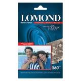 Бумага Lomond 10х15 260г/м2 20л полуглянцевая односторонняя премиум фото (1103302)