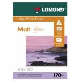 Бумага Lomond A3 170г/м2 100л матовая двусторонняя (0102012)