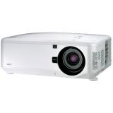 Проектор NEC NP4100W (NP4100W, NP4100WG) (без линзы) DLP (1280x800)WXGA, 5500 ANSI, 2100:1 с DinamicBlack, сдвиг линз, система 2-х ламп, 24/7, RJ45, DVI-I (HDCP), 5BNC