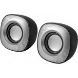 Колонки Defender SPK-490 (2.0) 2x2Вт черные, USB (65490)