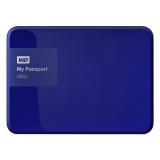 "Жесткий диск внешний 2.5"" 500Gb WD (USB 3.0) WDBBRL5000ABL-EEUE My Passport Ultra синий"