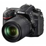 "Зеркальный Фотоаппарат Nikon D7200 черный 24.2Mpix 18-105mm f/3.5-5.6G VR 3.15"" 1080p Full HD SDXC Li-ion(VBA450K001)"