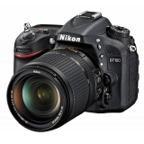 "Зеркальный Фотоаппарат Nikon D7100 черный 24.1Mpix 18-140mm f/3.5-5.6G VR 3.2"" 1080p Full HD SDXC Li-ion(VBA360K002)"