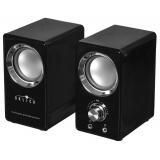 Колонки Oklick OK-116 (2.0) 2x3Вт, пластик, черные, питание USB