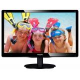 """Монитор-ЖК 20"""" Philips 200V4QSBR/00(01) LED MVA 1600*900 8мс DVI VGA Glossy-Black"""