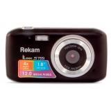 """Фотоаппарат Rekam iLook S755i черный 12Mpix 1.8"""" SD/MMC CMOS/Li-Ion(1108005121)"""